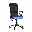 Netted Medium Back Revolving Chair