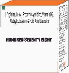 L Arginine DHA, Proanthocyanidins, Vit B6 Methylcobalamin & Folic Acid Granules