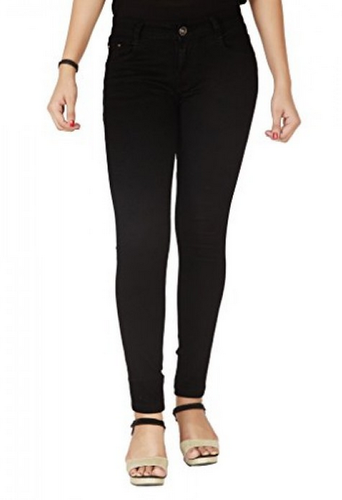 1da331a1e4994 Female FLIRT NX Women's High Rise Stretchable Black Jeans, Rs 1200 ...