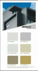 Metallic and Solid Aluminum Composite Panel
