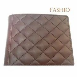 Male Mens Leather Wallet, Card Slots: 4