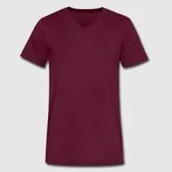 Plain V Neck T-Shirt