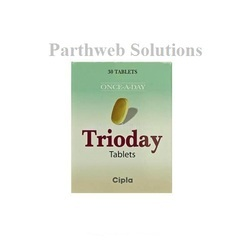 Trioday 300mg/300mg/600mg Tablets