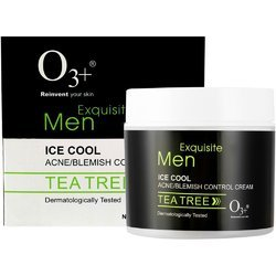 O3  Men Ice Cool Acne/Blemish Control Cream (Tea Tree) - 300 Ml