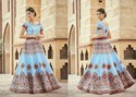 2 In 1 Gown and Lehenga Choli