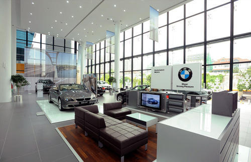Car Showroom Interior Showroom Decoration Services श र म