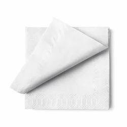 Double Ply Plain Paper Napkin