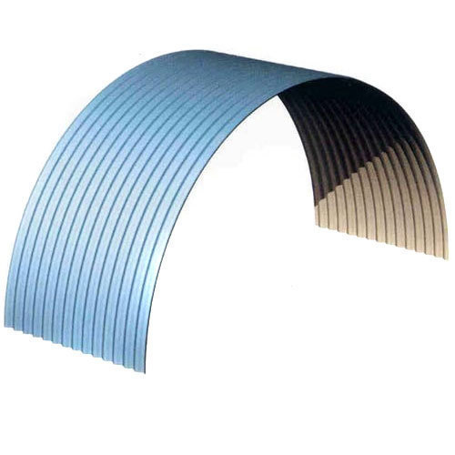 Aluminum Curved Roofing Sheet Rs 250 Square Feet M Tech