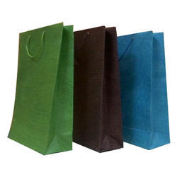 Colored Plain Paper Carry Bag