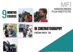 Nine Months Course in Cinematography - May 2019 to January 2020