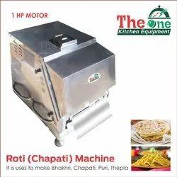 Ss Chapati Making Machine, Capacity: 800-1000 piece, Automation Grade: Semi-Automatic