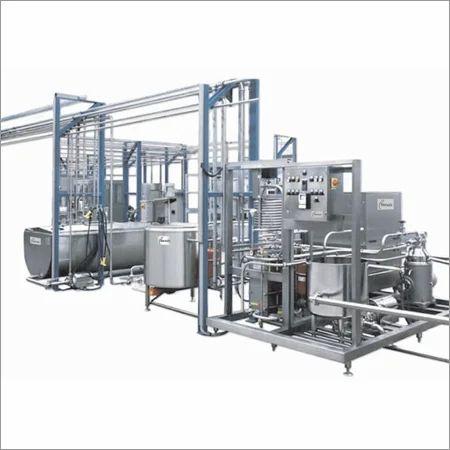 Semi Automatic Mini Milk Processing Plant Capacity 1000