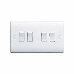 White MK Electric Switch