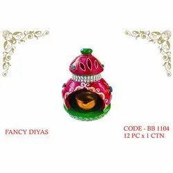 Fancy Clay Diya