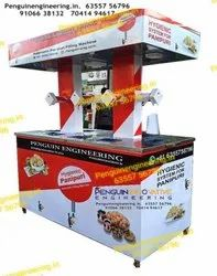 10 Nozzle Pani Puri Filling Machine