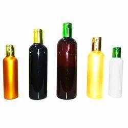 Plastic Colored Hair Oil Bottle
