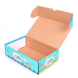 Single Wall 3 Ply Printed Corrugated Boxes, 11 - 25 Kg
