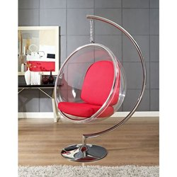 Acrylic Round Swing with Stand
