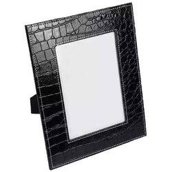 Square Leather Photo Frame