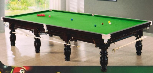 Tied up on the pool table