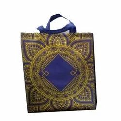 Loop Handle Designer Printed Non Woven Shopping Bags, Capacity: 10 Kg