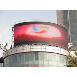 Curve LED Outdoor Display