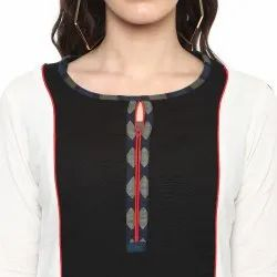 Yash Gallery Women's Cotton Flex Printed Kurta and Inner Set