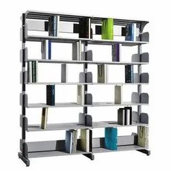 Fonzel BS2B61 2 Bay Library Shelving without Side Panels