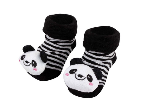 36f44756d6e5 Black Panda Anti Skid 3D Socks