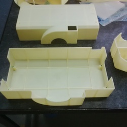 CAD / CAM 3D Plastic Prototype by CNC Machining in Pune