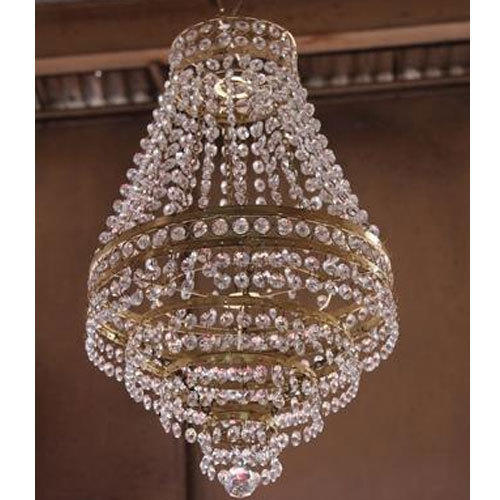 new product 828ef 62962 Mini Crystal Tent Chandelier