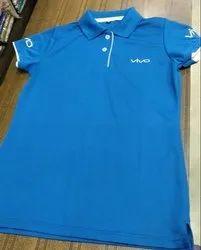 Blue Cotton Employee T Shirts