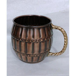 Cask Barrel Moscow Mule Mug