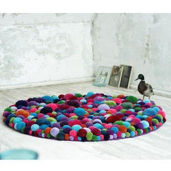 Multicolor Special Cotton Floor Rug