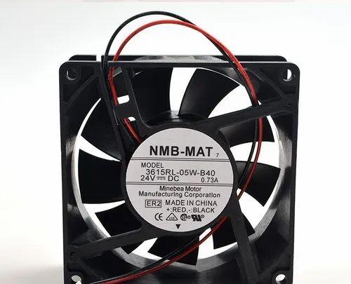 Black NMB-MAT 3615RL-05W-B40 Waterproof Inverter Cooling Fan