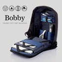XD Design Bobby Compact Anti Theft Laptop Backpack With Rain CoverDiver Blue