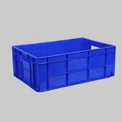 45 Litre Plastic Blue Crate