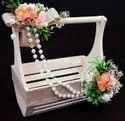 Rich Pine Decorated Baskets