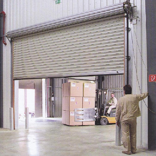 Full Height Electrical Rolling Shutter
