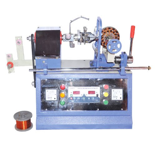 Semi Automatic And Hand Inverter 3 In 1 Ceiling Fan Winding Machine without GST price Model No. 998