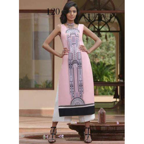 Available In Many Color Casual Fancy Ladies Kurta 31c02b404