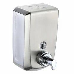 Manual SS Soap Dispenser, Capacity: 500 Ml