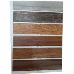 Brown Rectangle PVC Plank