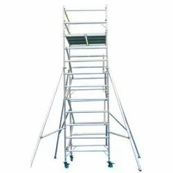 Aluminium Double Width Scaffold Without Staircase Ladder