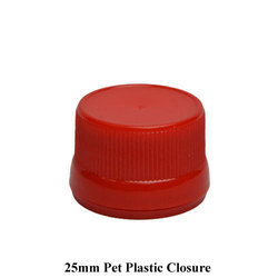 Round Red 25mm Pet Plastic Closure