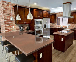 Modern G Shape Modular Kitchen