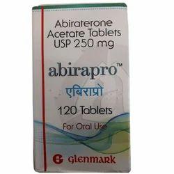 Glenmark Abiraterone Acetate Tablets USP 250 Mg, Packaging: 120 Tablet