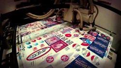 Sticker Screen Printing