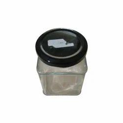 Square Glass Jar, Capacity: 253 mL