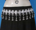 Tribal Tie Belt Handmade Fringe Tassel Belly dance Jewelry